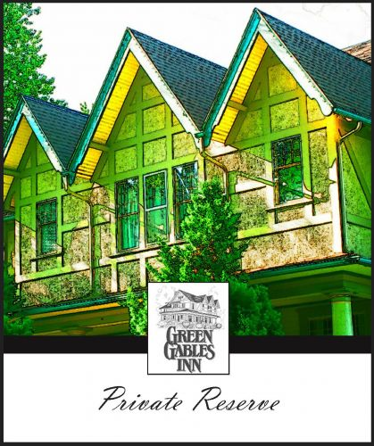 Wine Label  Green Gables Inn    3.87x4.62 1214 550 500 80