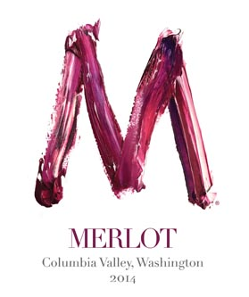 Merlot Painted R Columbia Valley 2014 small