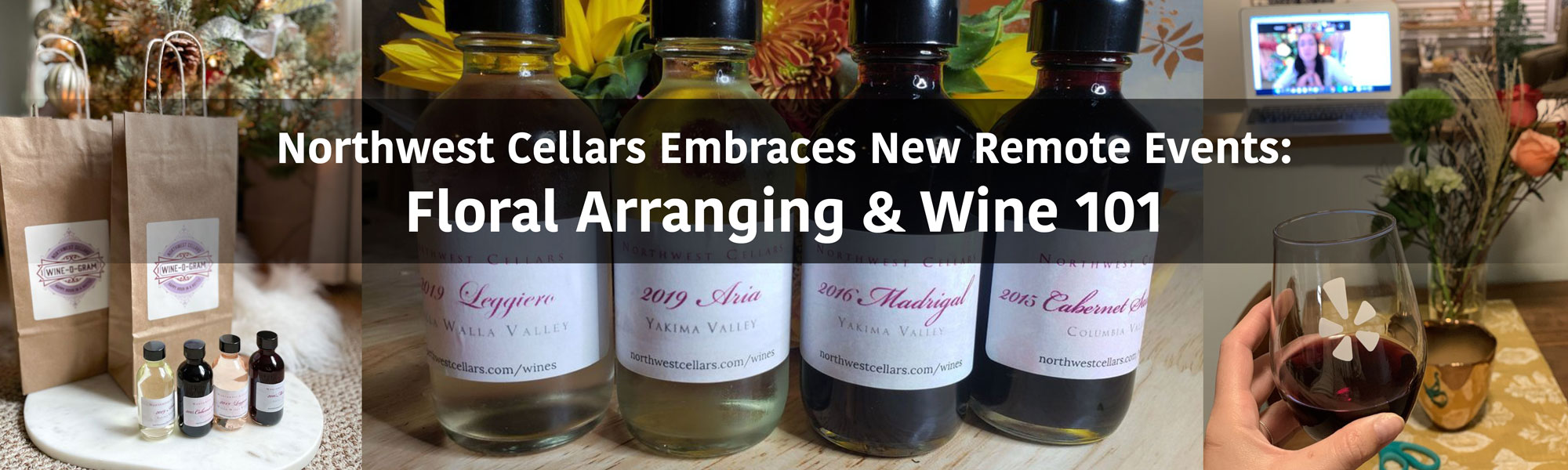 Wine & Flowers: NW Cellars Embraces New Remote Events