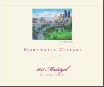 Great Northwest Wine - Northwest Cellars 2011 Madrigal, Columbia Valley