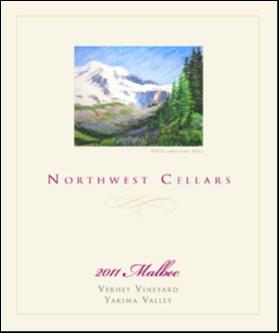 Great Northwest Wine - Northwest Cellars 2011 Verhey Vineyard Malbec, Yakima Valley, $28